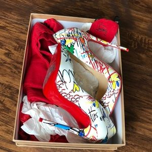 Authentic Christian louboutin so Kate heel